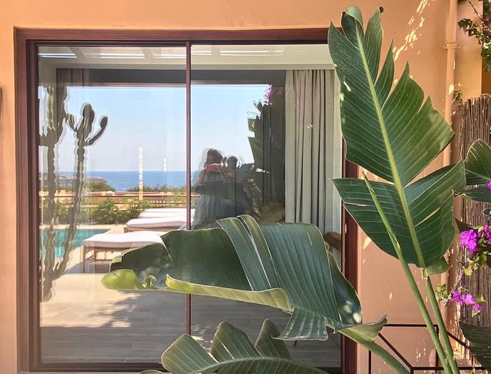 complete villa renovation, pergola & swimming pool in Cala Tarida, Ibiza