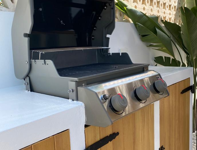complete reform, pergola & outdoor kitchen  - villa in Cala Gracio