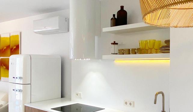 kitchen in private house - Dalt Vila, Ibiza