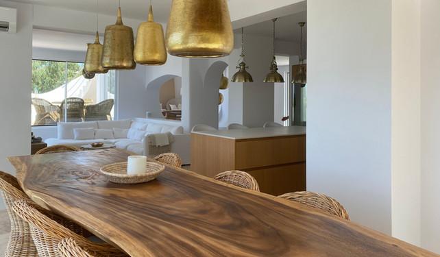kitchen in private villa - Cala Moli, Ibiza