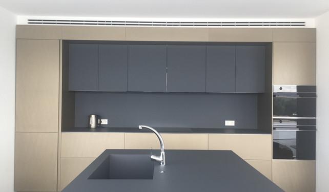 kitchen in private villa - San Rafael, Ibiza