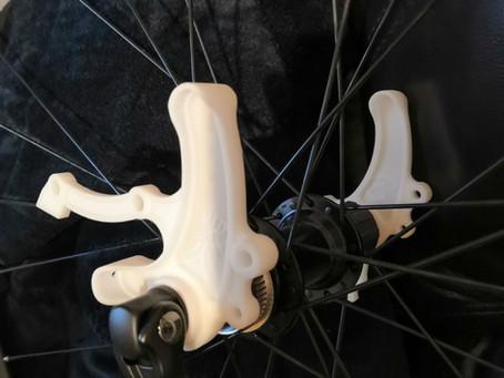 3D print during frameset develp