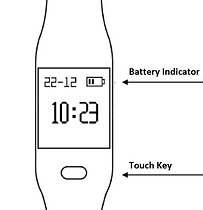 Fitpolo image battery indicator plus tou