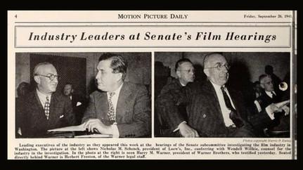 Wave of Anti-Semitism Today Resembles Prewar Attitudes Towards Jewish-Led Hollywood