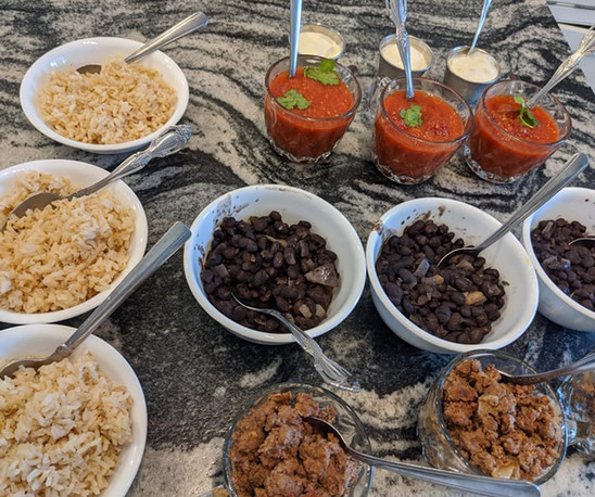 ingredients bar for tacos.jpg
