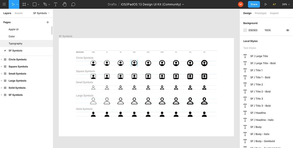 Image of Figma web design tool