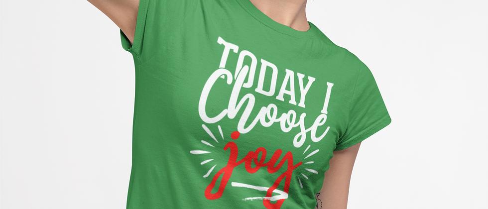 Unisex Red Choose Joy Christmas Edition
