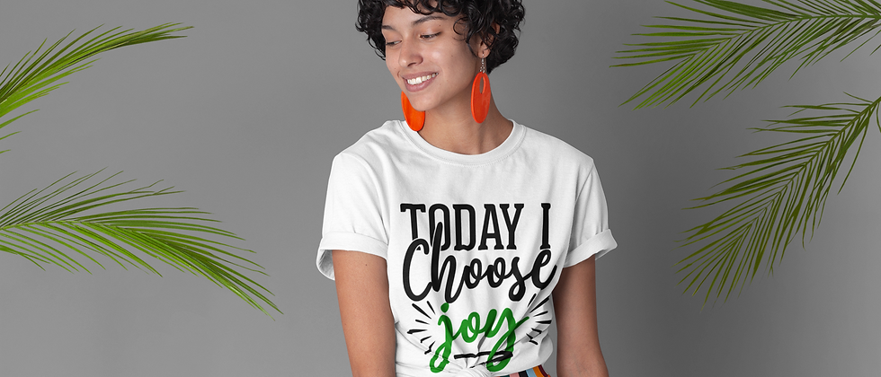 Unisex Green Choose Joy Christmas Edition