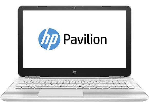 Portable HP Pavilion Blanc 15.6