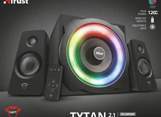 Kit son 2.1 Trust TYTAN GTX 629 120W