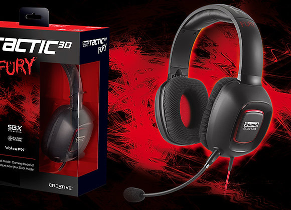 Casque de gamer Sound Blaster Tactic Fury