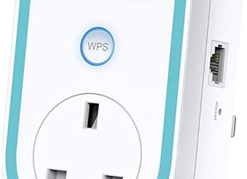 Répéteur Wi-Fi bi-bande avec prise haut débit tp-link AC1200