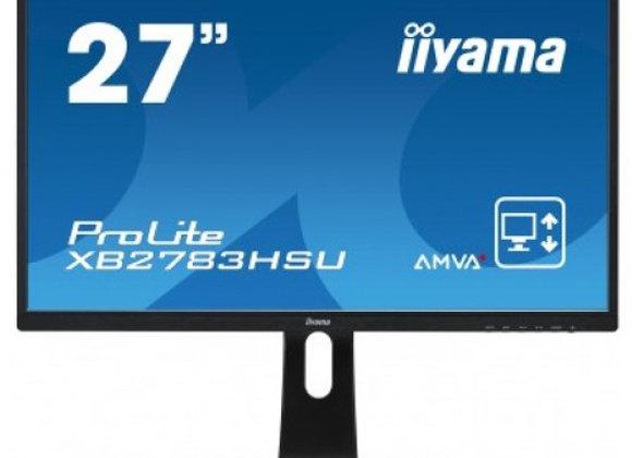 "Ecran plat LED 27"" Iiyama FULL HD"