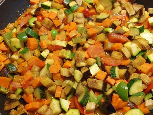 Poêlée de légumes d'été
