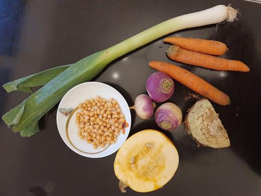 Purée/Soupe aux légumes d'automne
