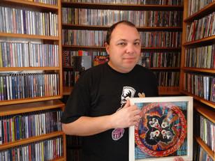 Matéria com Cesar Gavin no Wikimetal