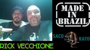 """Rick Vecchione  - Entrevista """"Made in Brazil e Saco de Ratos"""""""