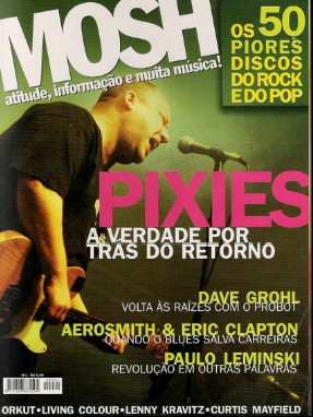 "Revista Mosh - ""50 piores discos do rock e do pop"""