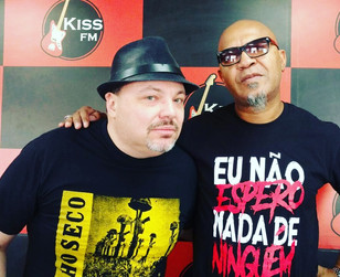 Programa Filhos da Pátria - Entrevista na Kiss FM