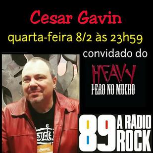 Cesar Gavin na 89 FM