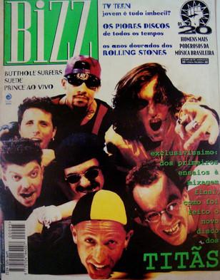 Titãs na revista Bizz