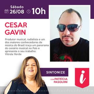 Cesar Gavin - Entrevista no Programa Sintonize