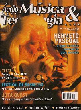 Cesar Gavin e Paulinho Nogueira na Revista Audio e Tecnologia
