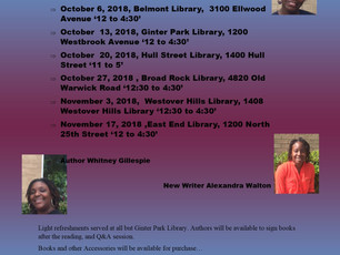 SBWC Authors Reading Tour