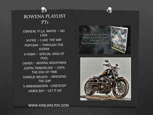 ROWENA'S ~ MUSIC PLAYLIST