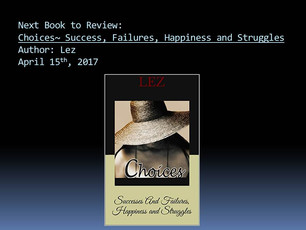 *Southside Book and Writers Club~Next Book For Review*