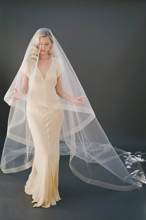 Crinoline Church Drop Veil