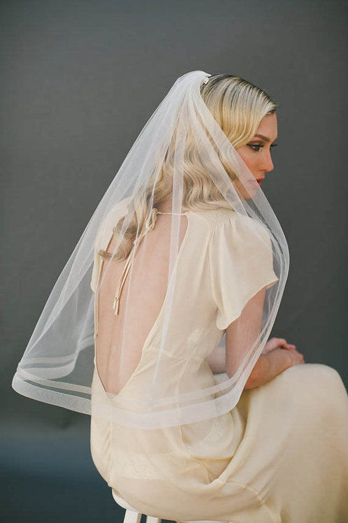 Crinoline Elbow Length Veil