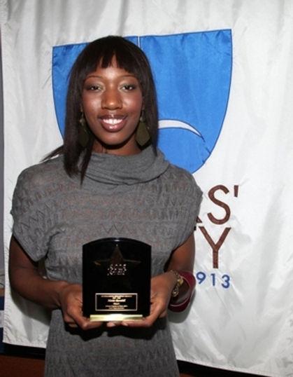 Actors Equity Award.   Hettie Barnhill
