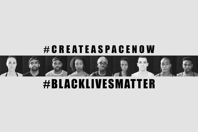 #CREATEASPACENOW #BLACKLIVESMATTER