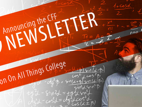 CFF Launches Educational Newsletter on All Things College