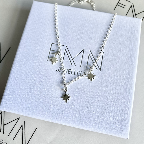 Triple Starry Necklace