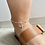 Thumbnail: Sterling Silver Charm Anklet