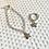 Thumbnail: Silver plated bracelet & ring set