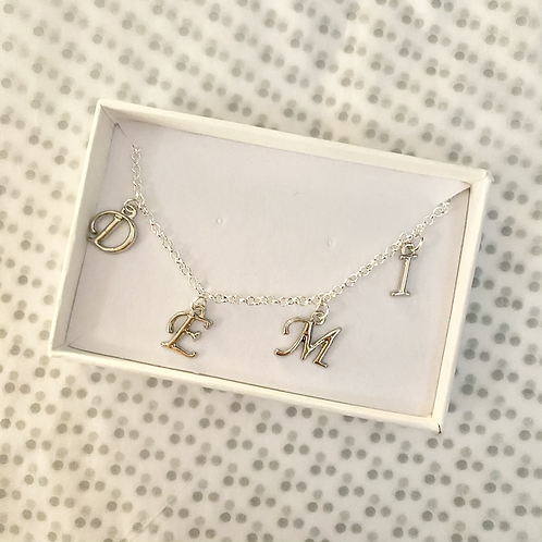 *LIMITED EDITION* Alphabet Necklace