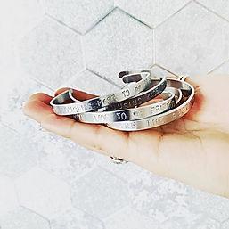 Aluminium bangles! Still £7 each or 2 fo
