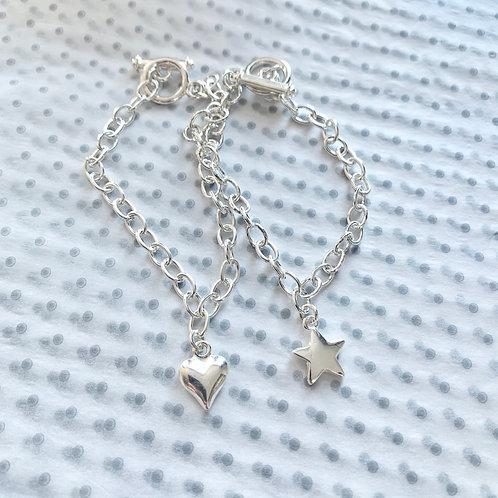 2  for £8.50 Charm Bracelets