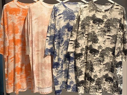 Dior t-shirt lang