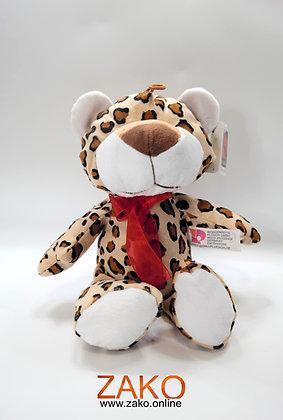 Leopard mit Schleife