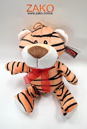 Tiger mit Schleife