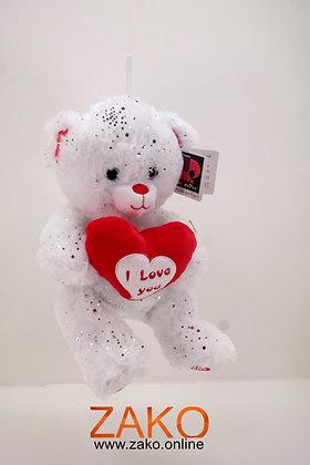 Weißer Bär mit Herz