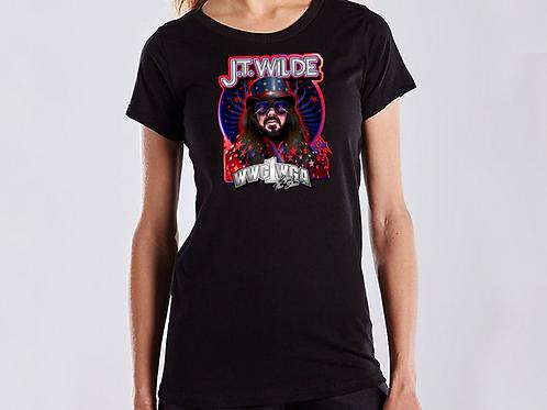 J.T. Wilde Enjoy the Show Front & Back Print T-Shirt