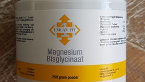 Magnesium Bisglycinaat in poeder vorm