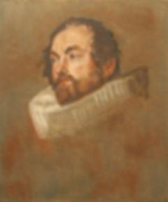 Copy, van Dyk sketch, Magistrate of Brussels, by Ken Taylor