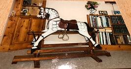 Rocking horse D9C9441E-F4AE-45DC-8738-15
