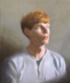 Oil Portrait, George Moorhead, July 2015